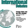 Foreign Policy and the 2012 Election
